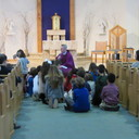 Father Stephen's Homily to our youngest parishioners photo album thumbnail 1